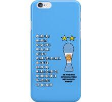 Argentina 1986 World Cup Final Winners iPhone Case/Skin