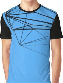 Minimalist Blue Geometry - Photograph Graphic T-Shirt
