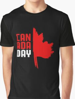 Happy CANADA Day Graphic T-Shirt
