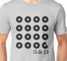 Bagels in Black Unisex T-Shirt