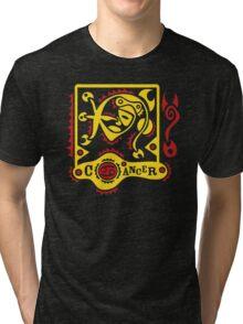 New Cancer Zodiac Tri-blend T-Shirt