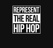 Represent the Real Hip Hop - White Unisex T-Shirt