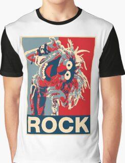 Hombre camiseta, Los Muppets Animal Rock Póster Ideal regalo de cumpleaños Graphic T-Shirt