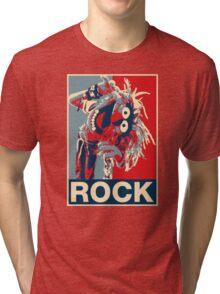 Hombre camiseta, Los Muppets Animal Rock Póster Ideal regalo de cumpleaños Tri-blend T-Shirt