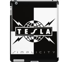 tesla simplicity kutai 2016 iPad Case/Skin