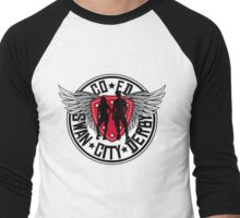 Swan City Derby  Men's Baseball ¾ T-Shirt