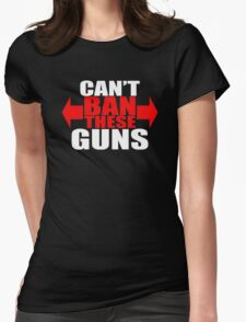 Ban These Guns Womens Fitted T-Shirt