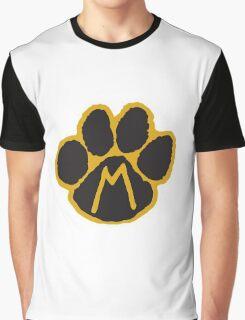 MIZ Pawprint  Graphic T-Shirt