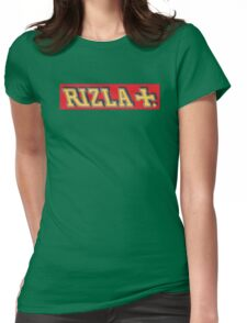 Red Rizla Womens Fitted T-Shirt