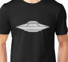 UFO Flying Saucer Spaceship  Unisex T-Shirt