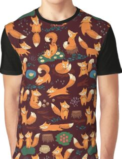 Cute foxes Graphic T-Shirt