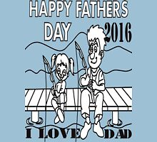 i love dad Unisex T-Shirt