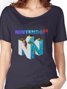 Vaporwave Nintendo 64 Women's Relaxed Fit T-Shirt