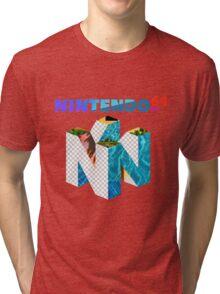 Vaporwave Nintendo 64 Tri-blend T-Shirt