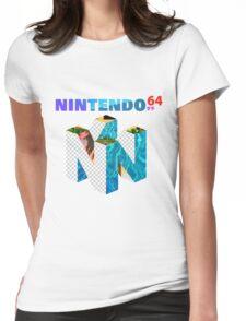Vaporwave Nintendo 64 Womens Fitted T-Shirt