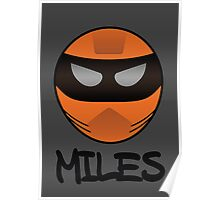 Pissed - Miles Poster