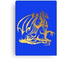 The Golden Dragon Canvas Print
