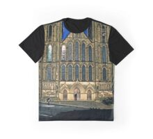 West Front, Ripon Cathedral, late evening Graphic T-Shirt