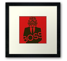 BOSS MUST HAVE Framed Print