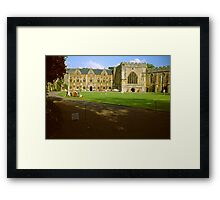 The Bishop's Palace, Wells Framed Print