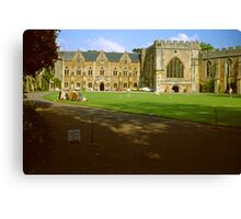 The Bishop's Palace, Wells Canvas Print