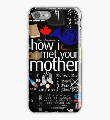 how I met your mother iPhone Case/Skin