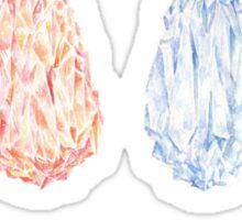 Bravely Default Elemental Crystals Watercolor Sticker