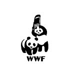 Panda Wrestling - ONE:Print by StickerBomber