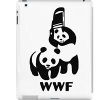 Panda Wrestling - ONE:Print iPad Case/Skin