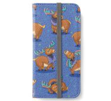 Rainbow Moose iPhone Wallet/Case/Skin