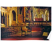 Canterbury Cathedral, Choir and Sanctuary 1961 Poster