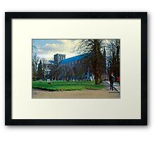 Winchester in Mid-Winter Framed Print