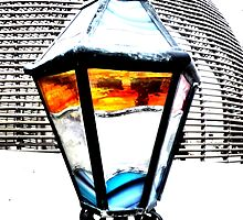 Lamp at Hugo's Beach Club by ©The Creative  Minds