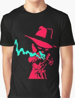 Smoke Calvin And Hobbes Graphic T-Shirt