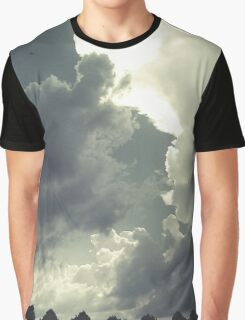 Kissing Clouds Graphic T-Shirt