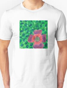 Single Purple Flower T-Shirt