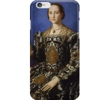 Agnolo Bronzino - Portrait of Eleonora di Toledo with her son Giovanni 1544 - 1545 Woman Portrait Fashion iPhone Case/Skin