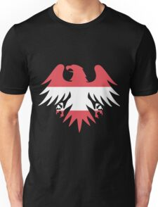 Austria Flag Eagle Unisex T-Shirt