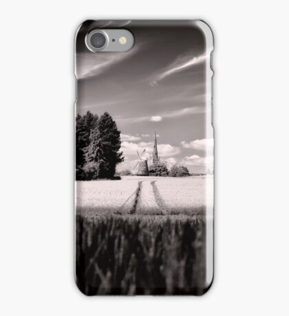 The Ripening Corn Thaxted BW iPhone Case/Skin