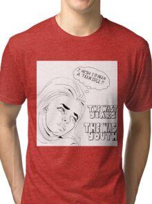 Idle Teen Tri-blend T-Shirt