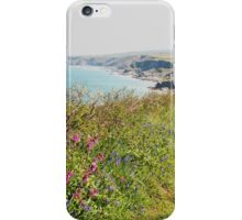 Cornish Coastal Path to Tintagel iPhone Case/Skin