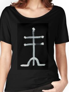 Alchemical Symbols - White Arsenic One Inverted Women's Relaxed Fit T-Shirt