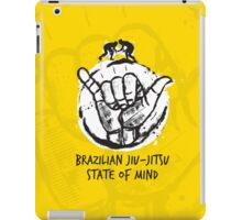 BJJ state of mind 2 iPad Case/Skin