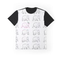 The Pink Elephant Graphic T-Shirt