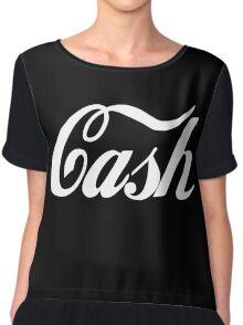 Cash Coca Cola Inspired Chiffon Top