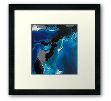 Deep blue Sea Sea Sea Framed Print