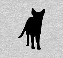 German shepherd dog silhouette Unisex T-Shirt