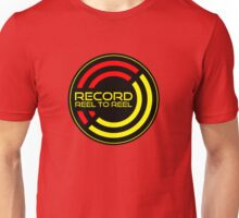 Record reel to reel Unisex T-Shirt