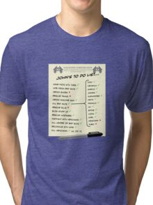 John McClane's To Do List Tri-blend T-Shirt