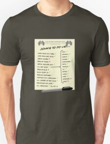John McClane's To Do List T-Shirt